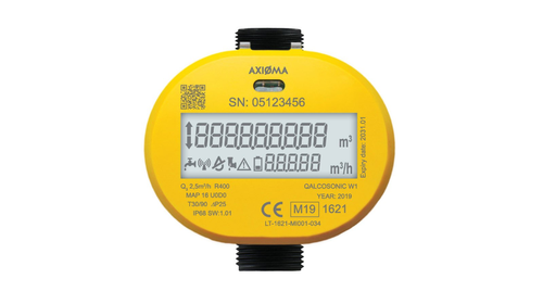 AXIOMA - LoRAWAN Ultrasonic Water meter Temperature-30/90
